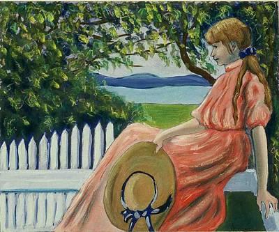 Waiting Art Print by Helen O Hara