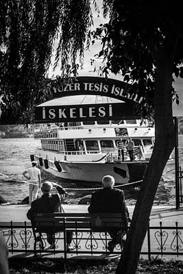 Bosphorous Photograph - Waiting In Istanbul by Joshua Van Lare