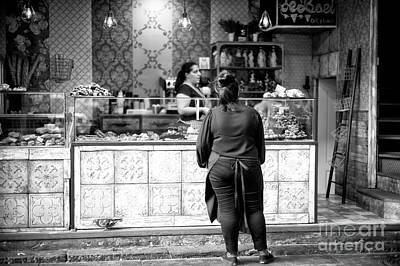Photograph - Waiting In La Boqueria by John Rizzuto