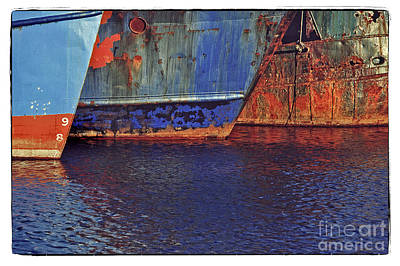 Photograph - Waiting In New Bedford by Michael Ziegler