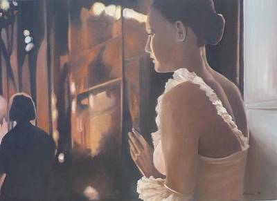 Painting - Waiting In The Wings by Caroline Philp
