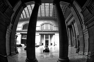Photograph - Waiting In Union Station by John Rizzuto