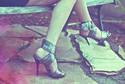 Stiletto Heel Photograph - Waiting In Vain by Graphics Metropolis