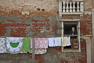 Photograph - Waiting In Venice by David Simchock