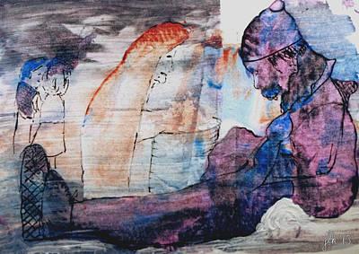 Painting - Waiting by Lori Kingston