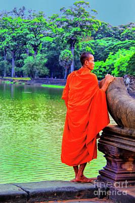 Photograph - Waiting Monk by Rick Bragan