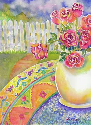 Painting - Waiting On A Friend by Ann Nicholson