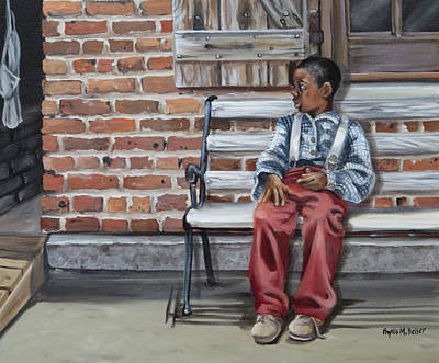 Painting - Waiting On Mama by Phyllis Beiser