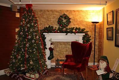 Wish List Photograph - Waiting On Santa by Cynthia Guinn