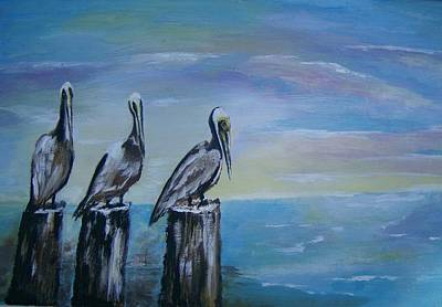 Since Painting - Waiting On The Cleanup by Lucretia Glorioso