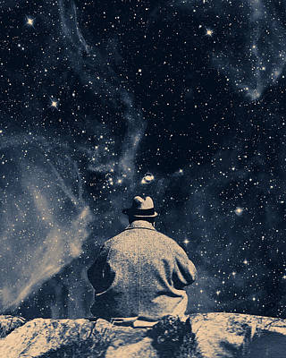 Murphy Mixed Media - Waiting On The Stars by Dylan Murphy