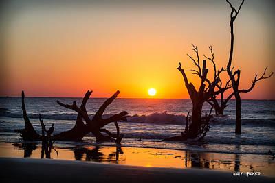 Photograph - Waiting On The Sun by Walt  Baker