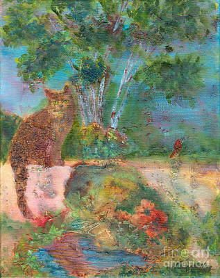 Painting - Waiting Patiently by Denise Hoag