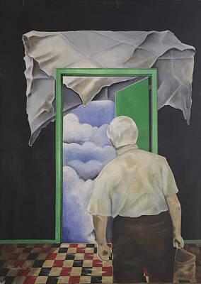 Waiting Original by Philip Butta