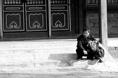 Beijing Photograph - Waiting by Sebastian Musial