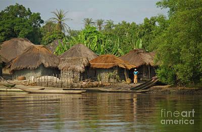Photograph - Waiting  - Sierra Leone by Julian Wicksteed