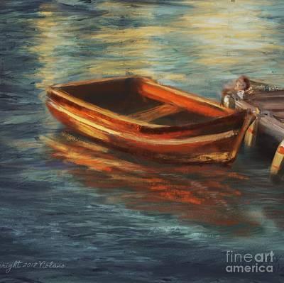 Painting - Waiting by Stella Violano