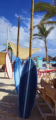 Photograph - Waiting Surf Boards - Photography By Ann Powell by Ann Powell