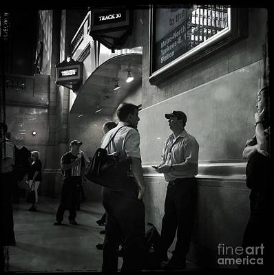 Photograph - Waiting To Board by Miriam Danar