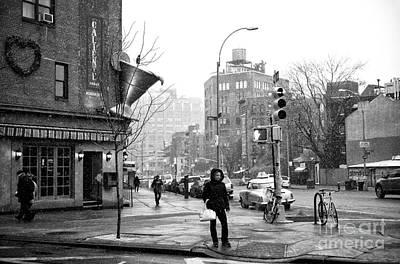 Photograph - Waiting To Cross Bleeker by John Rizzuto