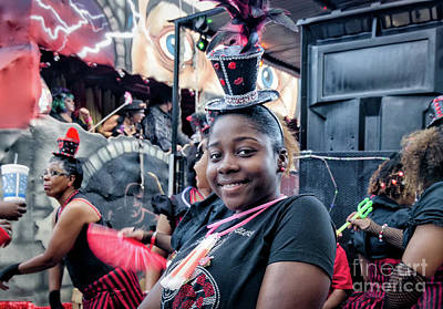Photograph - Waiting To Parade- Krewe Of Boo Nola by Kathleen K Parker