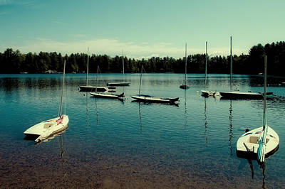 Photograph - Waiting To Sail On White Lake by David Patterson