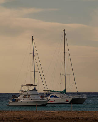 Photograph - Waiting To Sail by Pamela Walton