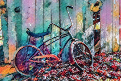 Photograph - Waiting To Take A Ride Island Colors by Debra and Dave Vanderlaan