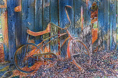 Photograph - Waiting To Take A Ride On Old Rusty by Debra and Dave Vanderlaan