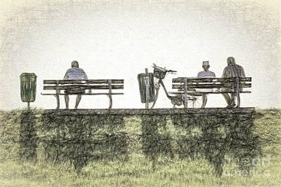 Digital Art - Waiting. Watching. by Howard Ferrier