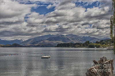Wakatipu Lake In New Zealand Print by Patricia Hofmeester