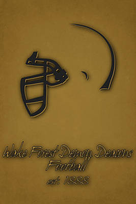 Wake Forest Demon Deacons Print by Joe Hamilton
