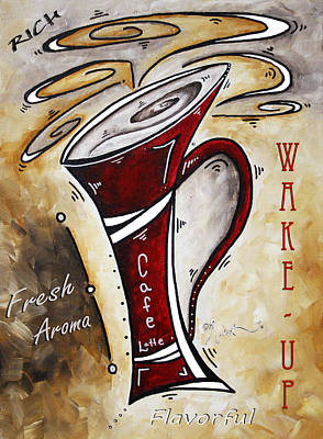 Wake Up Call By Madart Art Print by Megan Duncanson