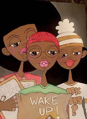 Painting - Wake Up by Deborah Carrie