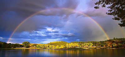 Photograph - Wake Up Rainbow  by Kadek Susanto