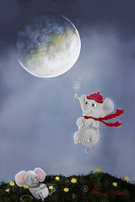 Painting - Wake Up Sleepyhead By Sannel Larson by Sannel Larson