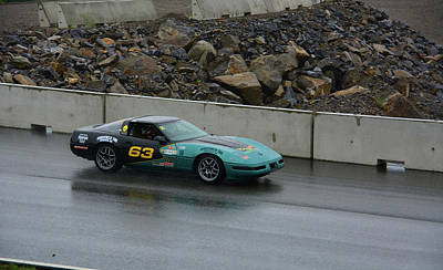 Photograph - Wakefield Tire 63 Corvette by Mike Martin