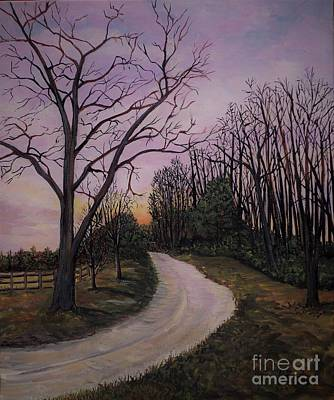 Painting - Wakema Country Walk by Reb Frost