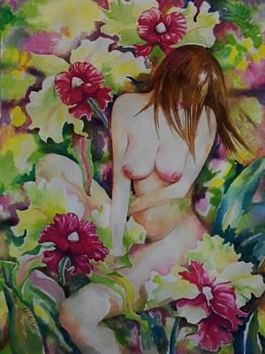 Waking In Eden Original by Min Wang
