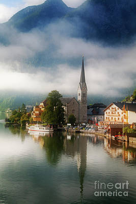 Photograph - Waking Up In Hallstatt by Scott Kemper
