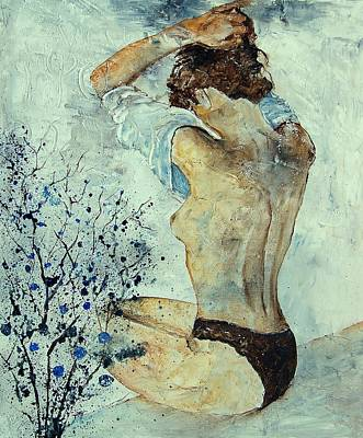Nudes Royalty-Free and Rights-Managed Images - Waking up by Pol Ledent
