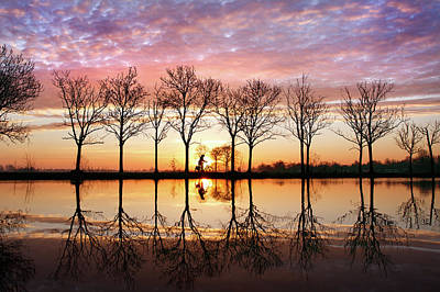 Water Reflections Photograph - Waking Up by Roeselien Raimond