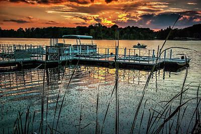 Photograph - Walborn Reservoir Marina 091813_0005 by Brian Snyder