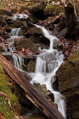 Photograph - Walden Creek Cascade by Paul Rebmann
