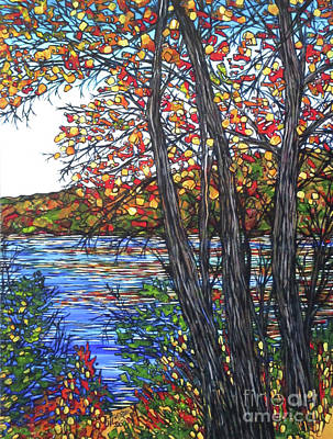 Concord Massachusetts Painting - Walden Pond by Tracy Levesque