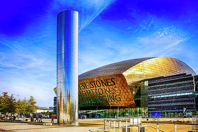 Photograph - Wales Millenium Centre Cardiff by Chris Smith