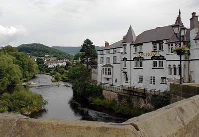 Photograph - Wales Royal Hotel by Dianne Levy