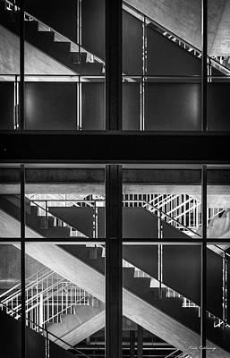 Photograph - Walk About 2 Atlanta Suntrustpark Stairs Art by Reid Callaway