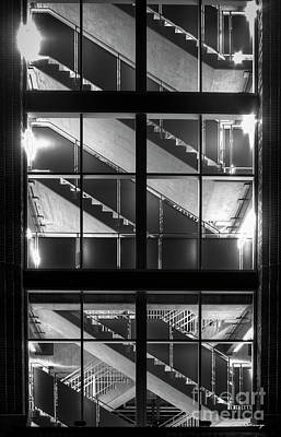 Photograph - Walk About 3 Atlanta Suntrustpark Baseball Park Stairs Art by Reid Callaway