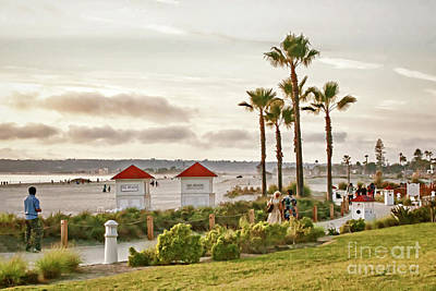 Photograph - Walk Along The Del Beach by Gabriele Pomykaj